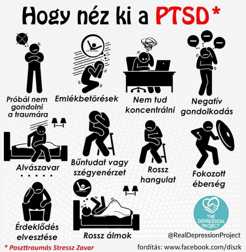 PTSD tünetek